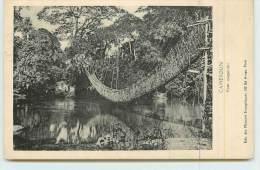 CAMEROUN  - Pont Suspendu. - Cameroon