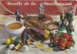 CPSM La Bouillabaisse - Recipes (cooking)