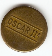 OSCAR II TOKEN,JETON,GETTONE - Jetons & Médailles