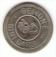 MINI CARS TOKEN,JETON,GETTONE - Tokens & Medals