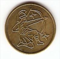 SAGITTARIUS LOGO VERY NICE VINTAGE TOKEN,JETON,GETTONE - Tokens & Medals