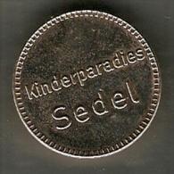 CHILDREN'S PARADISE,KINDERPARADIES SEDEL TOKEN VERY NICE VINTAGE TOKEN,JETON,GETTONE - Germany