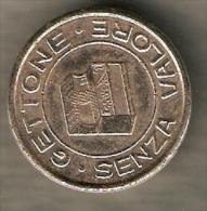 COIN FOR APPLIANCES ENTERTAINMENT VERY NICE VINTAGE TOKEN,JETON,GETTONE - Italy