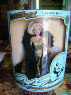 """Poupée MARILYN MONROE, Tenue """"pur Fantasy"""" 1993, Quasiment Introuvable En état Neuf (no Barbie) - Barbie"""
