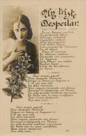 Un Triste Despertar Cancion Colombiana  1925  Beautiful Lady Accroche Coeur - Colombie