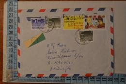 1981 PAESI BASSI  AEROGRAMMA - 1980-... (Beatrix)