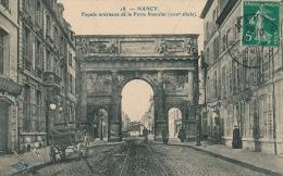 NANCY - Façade Intérieure De La Porte Stanislas - Nancy