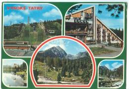 Slovakia, VYSOKE TATRY, Used Postcard [13972] - Slovakia