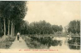 80 - AMIENS - Les Bords De La Somme - Animée, Voir Scan - Amiens