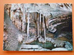 E1-belgique- Grottes De Han Sur- Lesse--le Gour--nouvelles Galeries-beau Timbre-- - Belgium