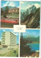 Slovakia, VYSOKE TATRY, 1968 Used Postcard [13979] - Slovakia