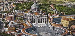 Italy Roma Rome Piazza San Pietro dall'aereo