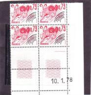 PREOBLITERE N° 151 - 0,73F BELIER - 10.01.1978 - (1 Trait) - Vorausentwertungen