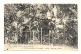 Cp, 85, Chavagnes-en-Paillers, Grotte De Lourdes - Frankreich