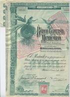 Banco Central Mexicano - Actions & Titres