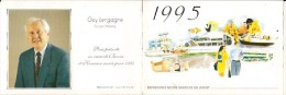 Calendrier-guy Lengagne-boulogne Sur Mer- 1995-petit Format - Formato Piccolo : 1991-00