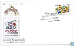 Sri Lanka Stamps 2013, RISGO Centennial, International Scout Jamboree, FDC - Sri Lanka (Ceylon) (1948-...)