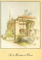 FRANCE : 06 : ## NICE – Le Monastère De Cimiez. ##  Dessin D'après Nature Par Michel PERRÉARD. - Monumenten, Gebouwen