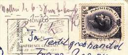MONTE CARLO, Reflets De La Cote D'Azur, Le Casino, Karte Gelaufen Um 1961, Sondermarke + Sonderstempel - Monaco