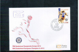 Montenegro 2012 Buducnost Europa Handball Champions Satz / Set FDC - Handbal