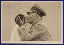 BENITO MUSSOLINI GIOVENTU' ITALIANA DEL LITTORIO NON VIAGGIATA FG ANNI 30 #17769 - Guerre 1939-45
