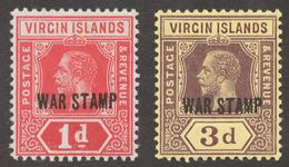 British Virgin Islands 1916-19 SG# 78-79* - Iles Vièrges Britanniques