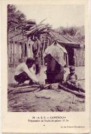 Cameroun    Préparation De L'huile De Palme - Cameroun