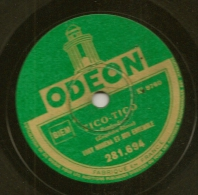 78 Tours Aiguille ODEON N° 281.694 I'AM BEGINNING TO SEE THE LIGHT Et TICO-TICO Par Tony MURENA. - 78 G - Dischi Per Fonografi
