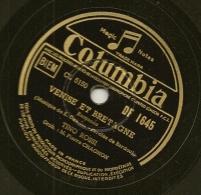 78 Tours Aiguille COLUMBIA N° DF 1645 NOEL En MER Et VENISE Et BRETAGNE Par Tino ROSSI. - 78 G - Dischi Per Fonografi