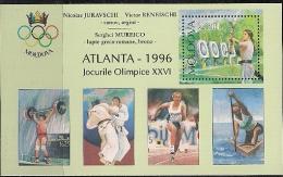1996 Moldawien Moldave BF 9 I Mi. Bl. 7 I **MNH - Summer 1996: Atlanta