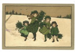CARTOLINA - BAMBINI   -  NON VIAGGIATA 1912 - Groepen Kinderen En Familie