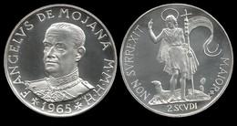 MALTE . ANGELUS DE MOJANA .  2 SCUDI . 1965 . - Malta