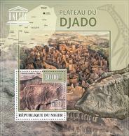 NIGER 2013 MNH** - Plateau Djado, Petroglyphs S/S. Official Issue - Archeologie