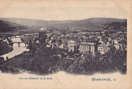 LUX20  --  DIEKIRCH  --  VUE SUR DIEKIRCH ET LA SURE - Diekirch