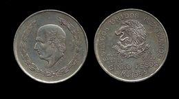 MEXIQUE . 5 PESOS . 1953 . - Mexiko