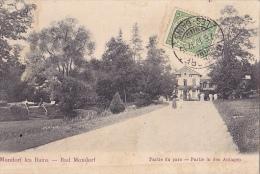 LUX24  --  MONDORF LES BAINS  --   BAD MONDORF  --  PARTIE DU PARC  -  1912 - Bad Mondorf