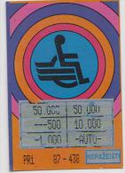 Lithuania Instant Lottery Ticket 1992 - Lottery Tickets