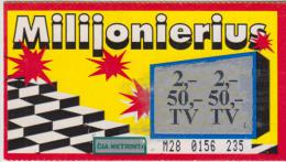 Lithuania Instant Lottery Ticket - Lottery Tickets