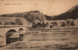 BELGIQUE - LIEGE - HAMOIR - Pont De L'Ourthe. - Hamoir
