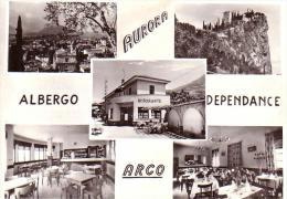 ARCO-TRENTO-ALBERGO DEPENDANCE=AURORA=-MULTIVEDUTE-ANNO 1950-60 - Trento