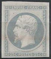 FRANCE - 25 C. Gris-bleu Neuf - Essai - 1853-1860 Napoléon III