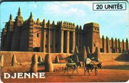 """Télécarte Du MALI """" DJENNE"""" 20Uniés      Vide- état TTB  N° De Lot:002460008 - Mali"""