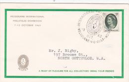 Australia..:  1963 International Philatelic Exhibition Souvenir Cover - 1952-65 Elizabeth II : Ed. Pré-décimales