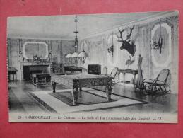 France > [78] Yvelines > Rambouillet (Château)  Interior Billiard Table - Ref -997 - Cartes Postales