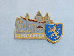 Pin's COLLEGIALE DE SAINT JUNIEN - Steden