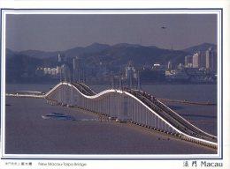 (158) Macao - Macau - New Macau-Taipa Bridge - Cartes Postales