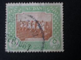 """SOUDAN  ( O )  De  1951    """"   Série Courante - Salukas Aux Champs   """"         N° 107         1 Val . - Soudan (1954-...)"""