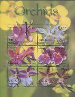 AZ1404 Maldives 2002 Orchid S/S(6) MNH - Orchids