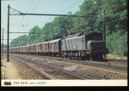 Train --  2D2 5512 Vers Lardy - Trains