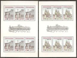 CHECOSLOVAQUIA 1985 - Yvert #2645/46 (Minipliegos) - MNH ** - Checoslovaquia